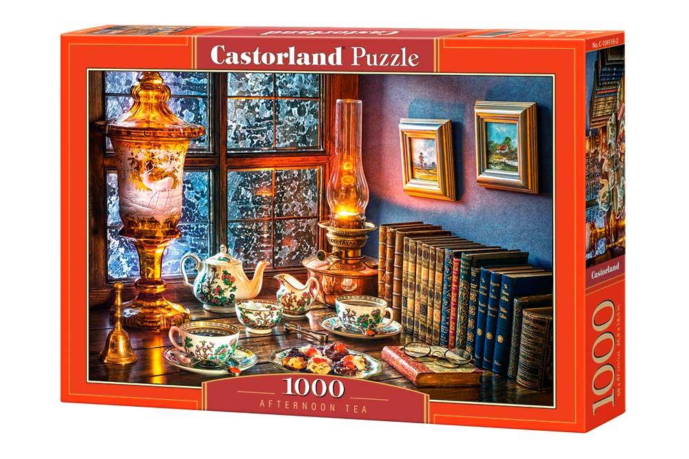 Puzzle Castorland Té de la Tarde de 1000 Piezas