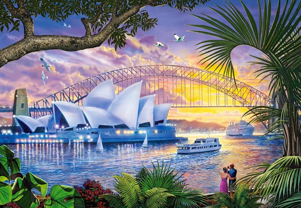 Puzzle Castorland Teatro Sydney Opera House de 1500 Piezas