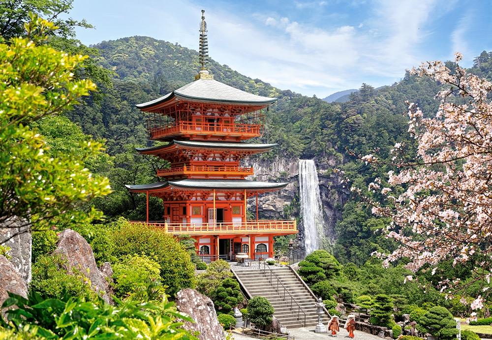 Puzzle Castorland Templo Seiganto-Ji, Japón de 1000 Piezas