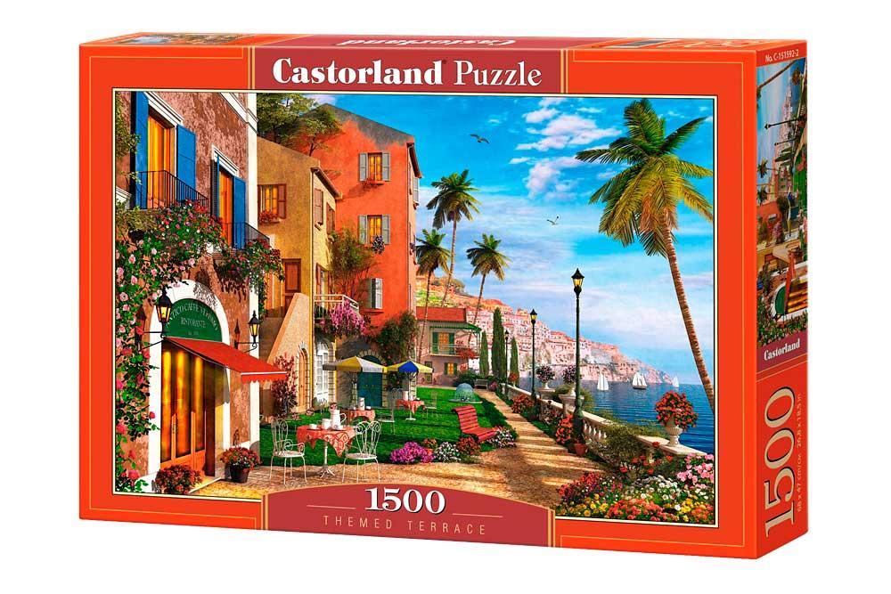 Puzzle Castorland Terraza Temática 1500 Piezas