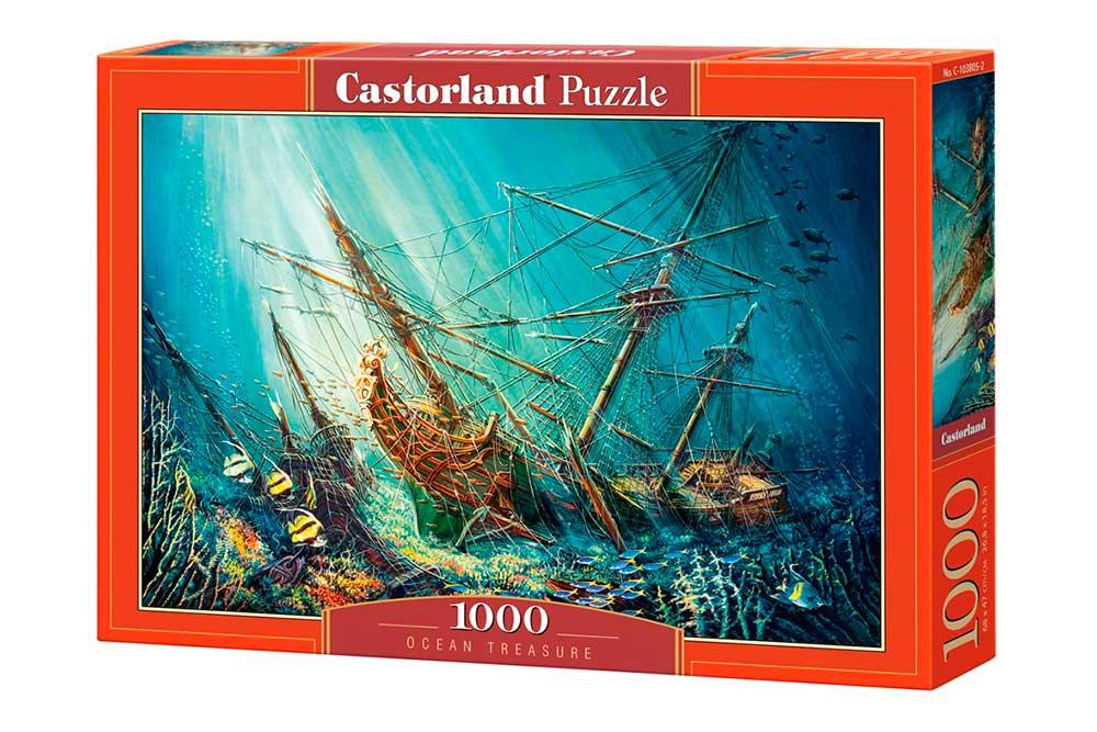 Puzzle Castorland Tesoro del Océano de 1000 Piezas