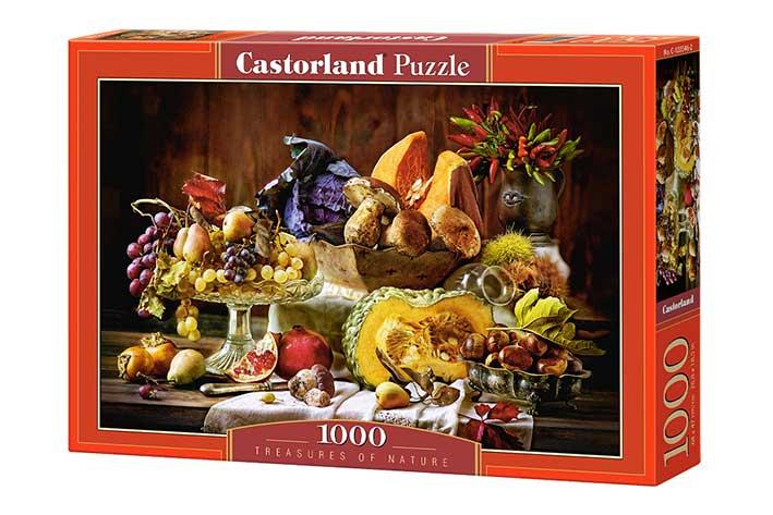 Puzzle Castorland Tesoros de la Naturaleza de 1000 Piezas
