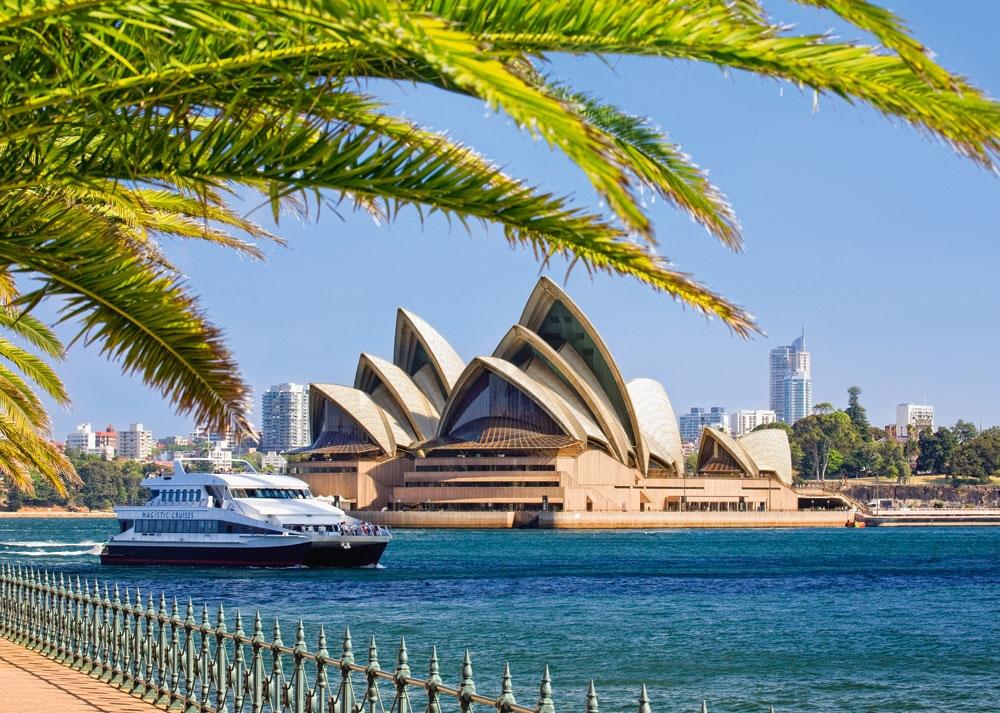 Puzzle Castorland The Sydney Opera House de 1000 Piezas