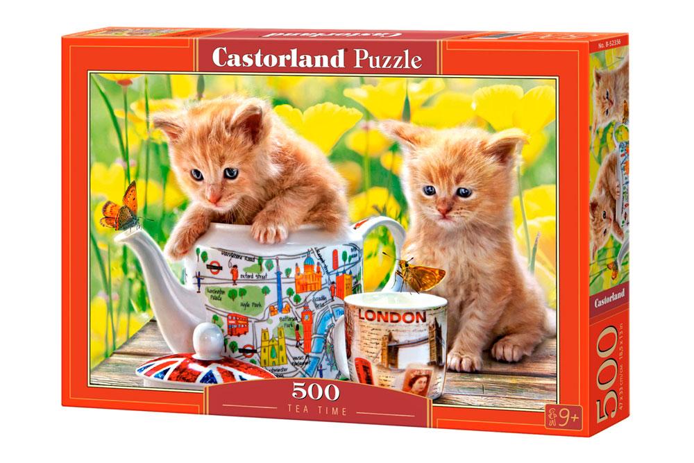Puzzle Castorland Tiempo para el Te de 500 Piezas