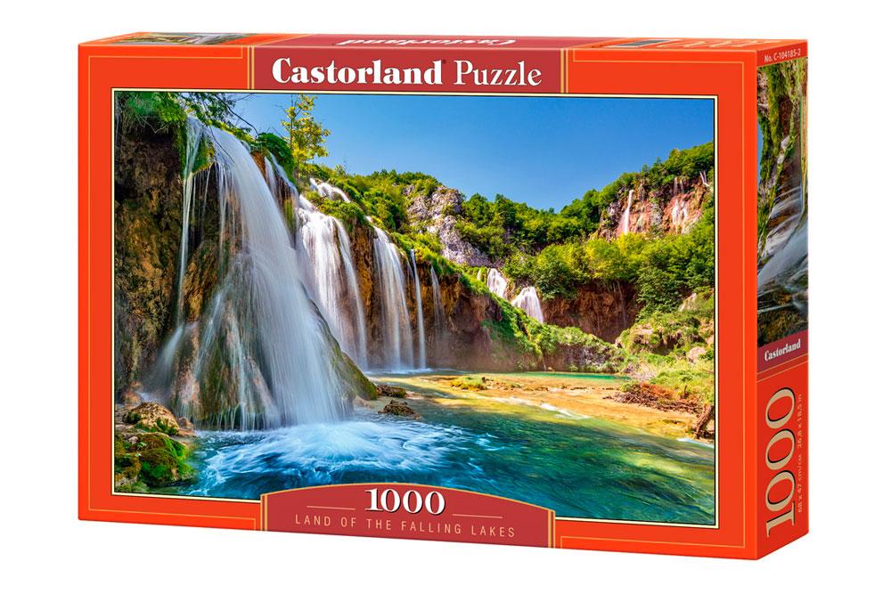 Puzzle Castorland Tierra de Lagos y Cascadas de 1000 Piezas