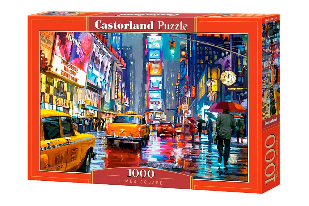 Puzzle Castorland Times Square de 1000 Piezas