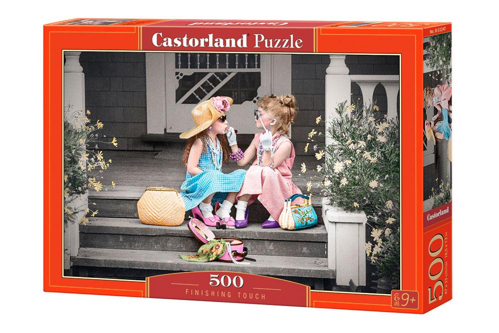 Puzzle Castorland Toque Final de 500 Piezas