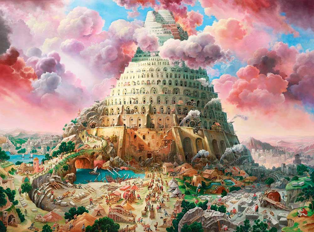 Puzzle Castorland Torre de Babel de 3000 Piezas