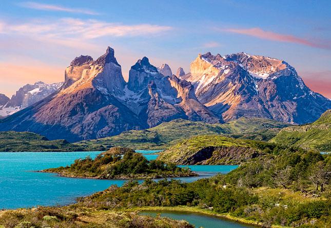Puzzle Castorland Torres del Paine, Patagonia, Chile de 1500 Pie