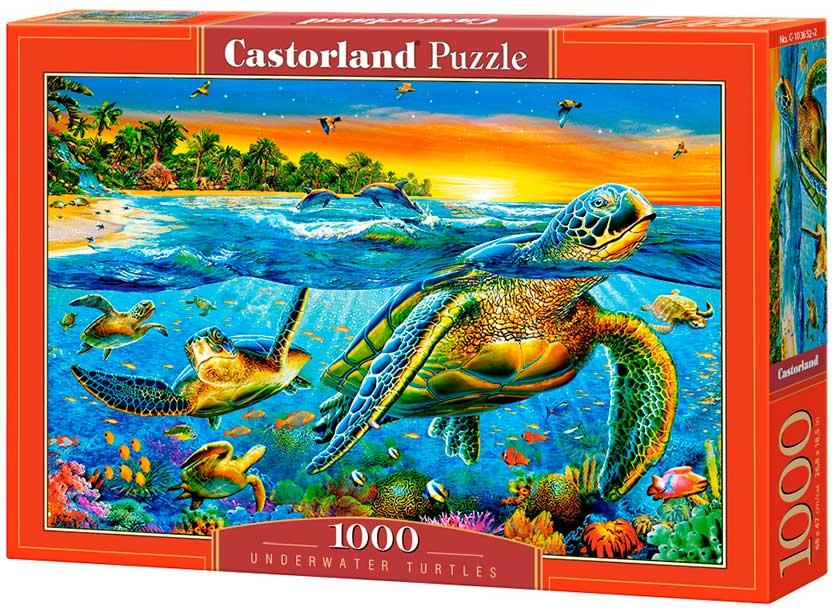Puzzle Castorland Tortugas Acuáticas de 1000 Piezas