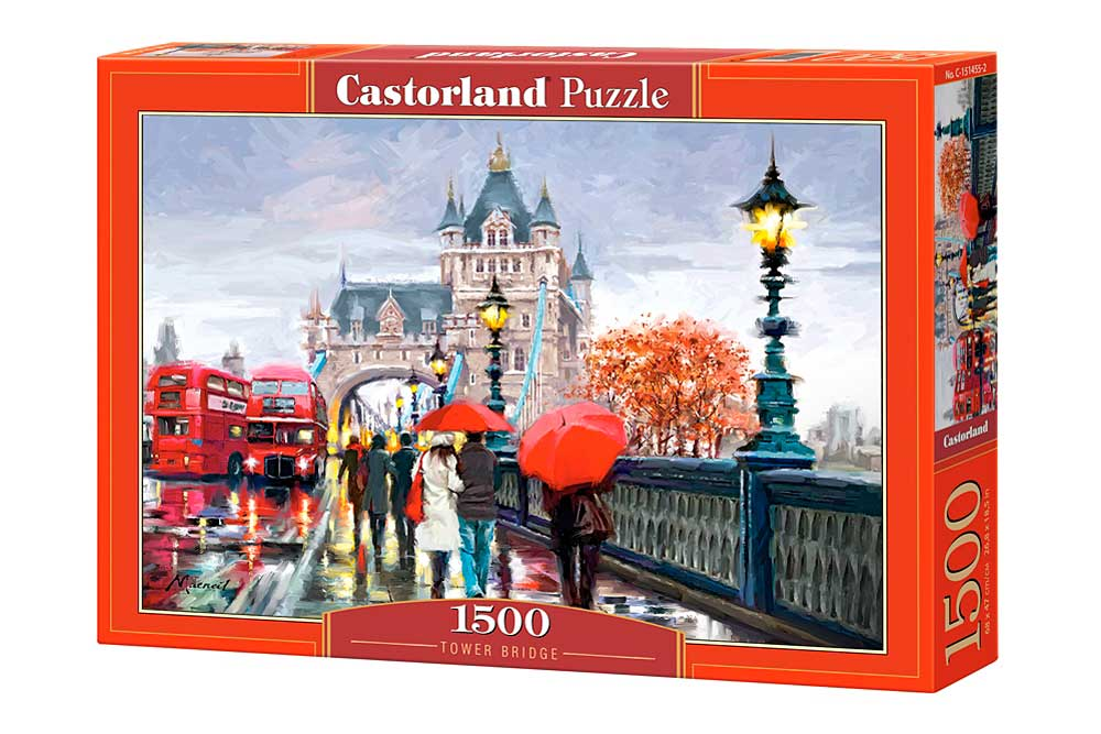 Puzzle Castorland Tower Bridge, Londres de 1500 Piezas