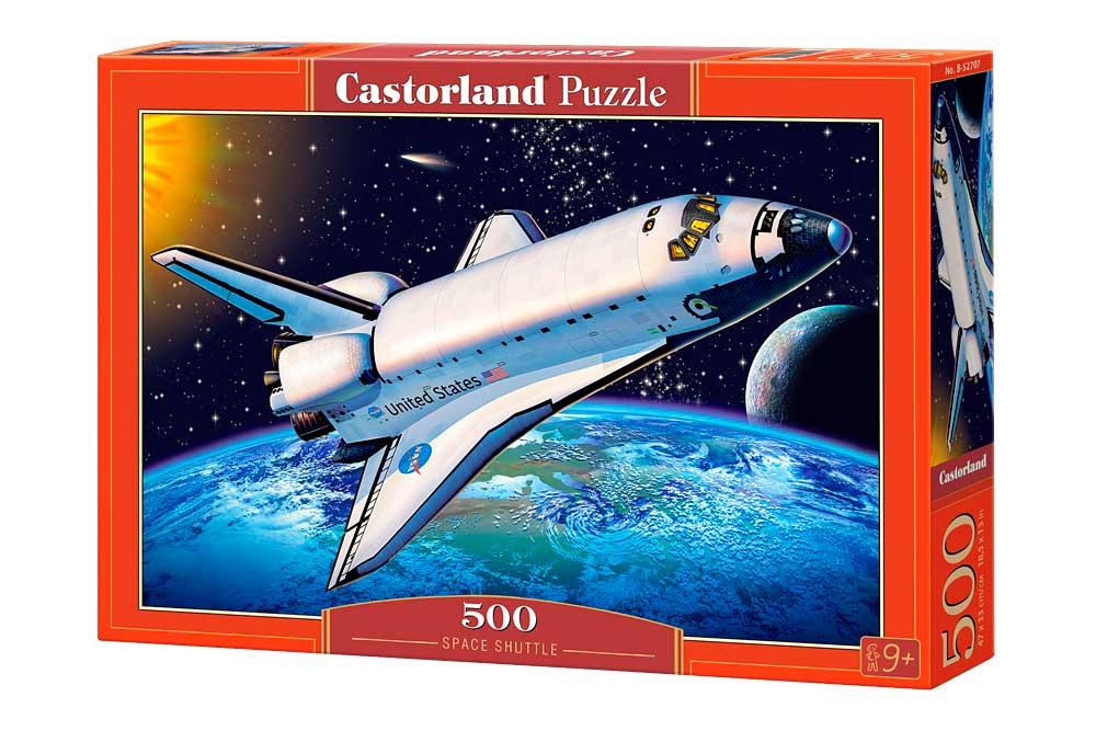 Puzzle Castorland Transbordador Espacial 500 Piezas