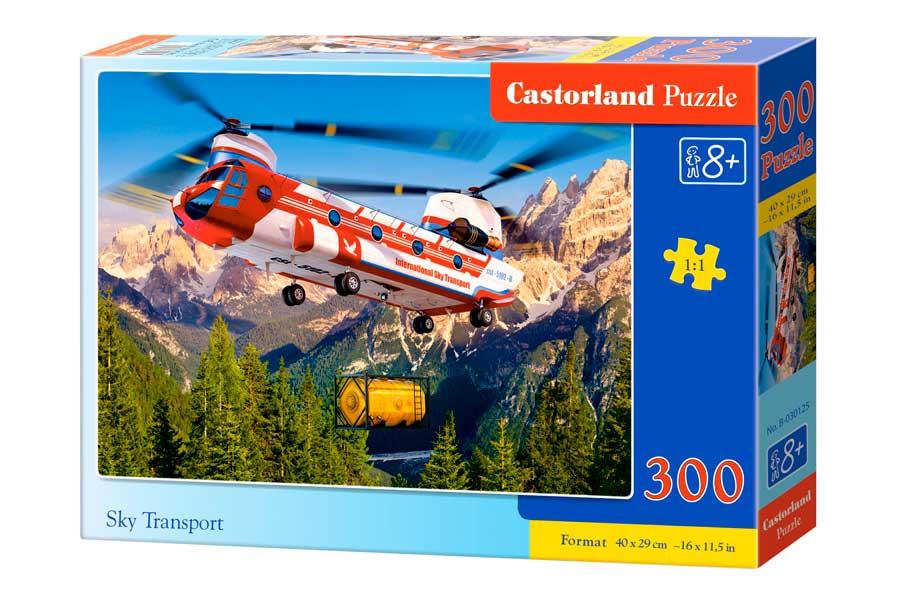 Puzzle Castorland Transporte Aéreo de 300 Piezas