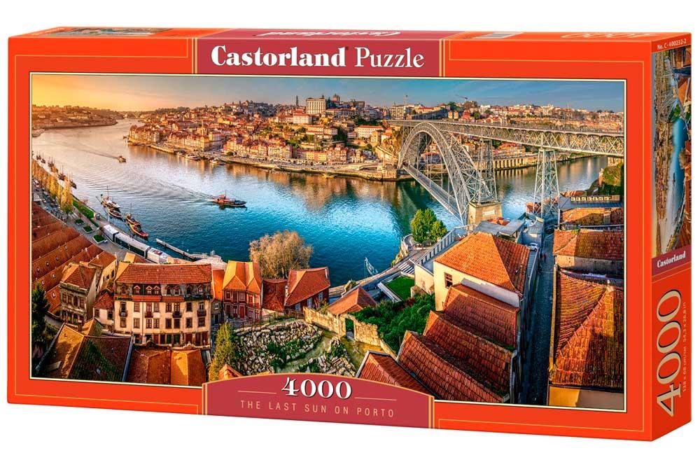 Puzzle Castorland Último Sol en Oporto de 4000 Piezas