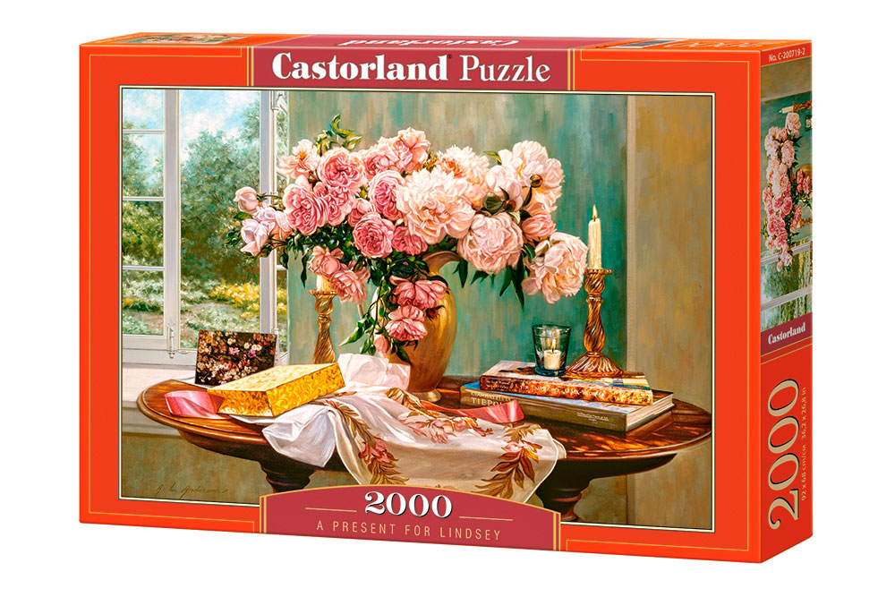 Puzzle Castorland Un Regalo para Lindsey de 2000 Piezas