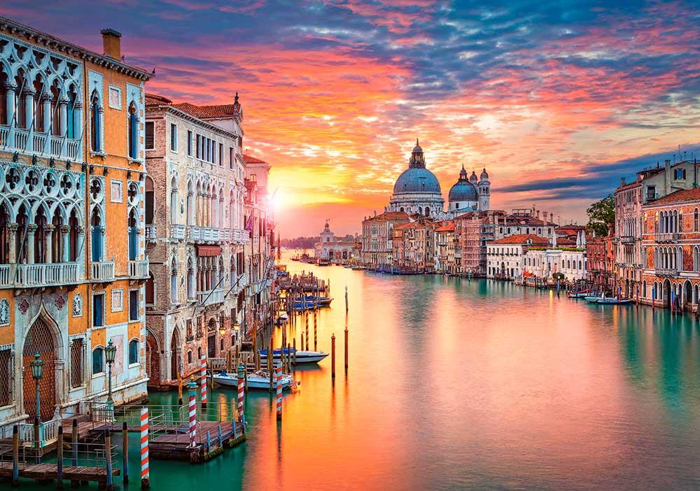 Puzzle Castorland Venecia al Atardecer de 500 Piezas