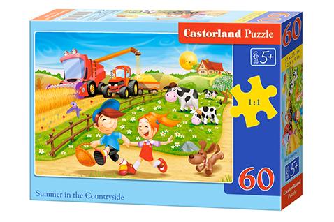 Puzzle Castorland Verano en el Campo de 60 Piezas