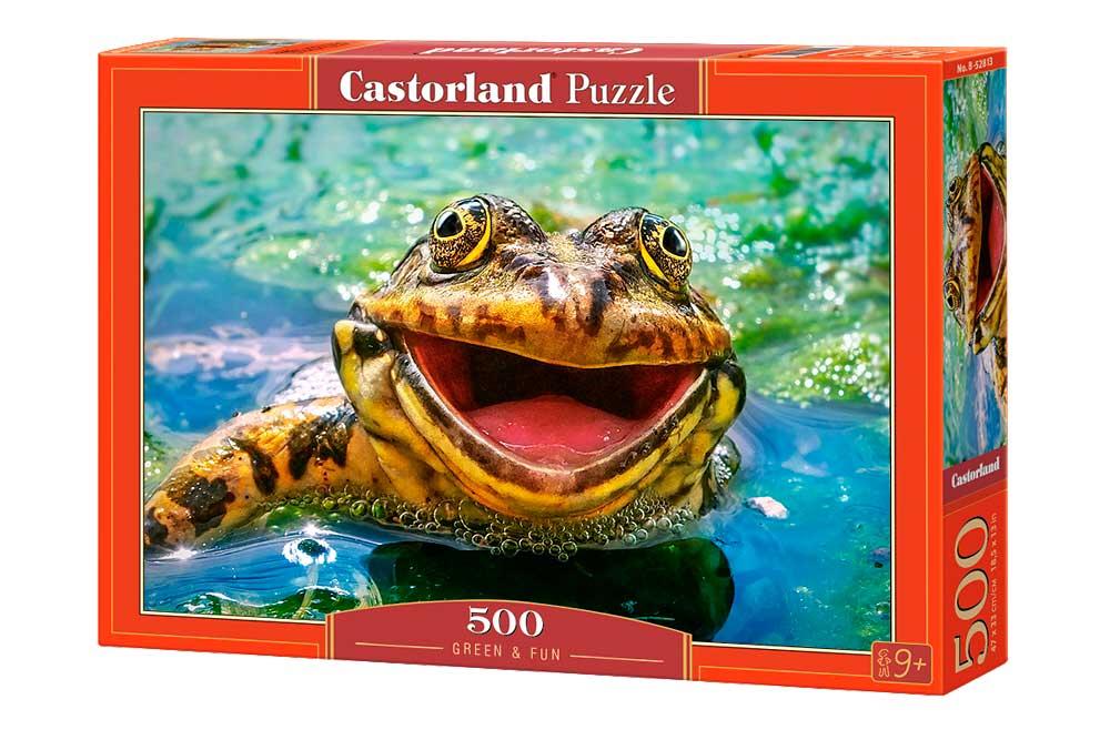 Puzzle Castorland Verde y Divertido 500 Piezas