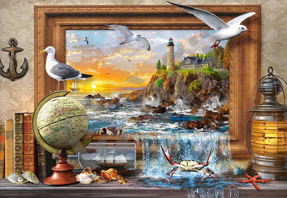 Puzzle Castorland Vida Marina de 1000 Piezas