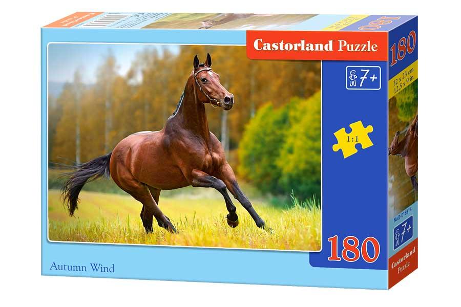 Puzzle Castorland Viento de Otoño de 180 Piezas