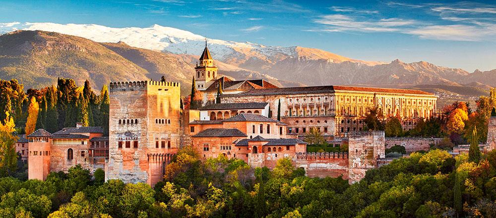Puzzle Castorland Vista de la Alhambra de 600 Pzs