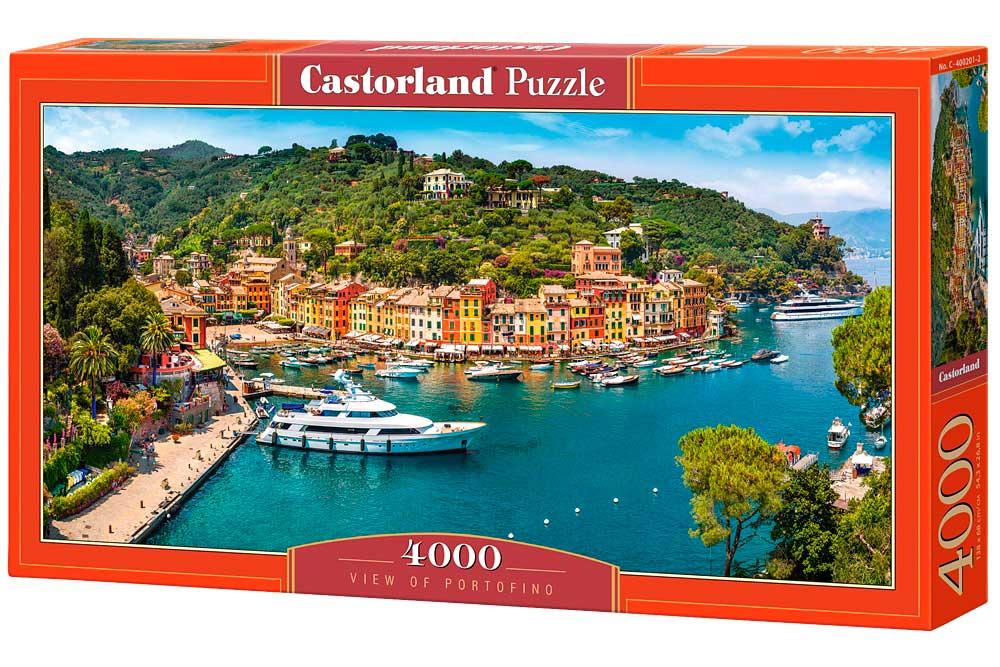 Puzzle Castorland Vista de Portofino 4000 Piezas