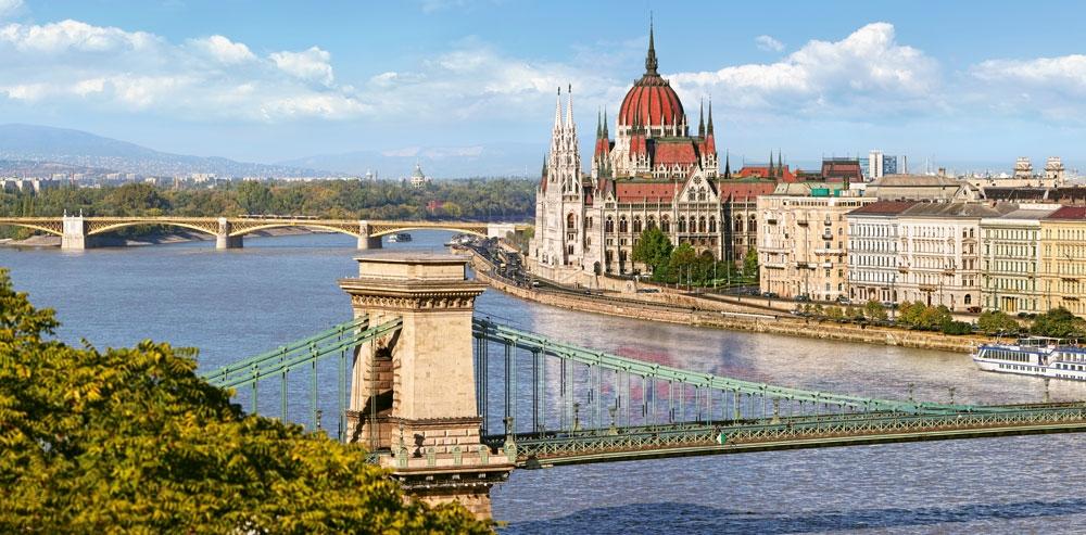 Puzzle Castorland Vista del Danubio, Budapest de 4000 Piezas