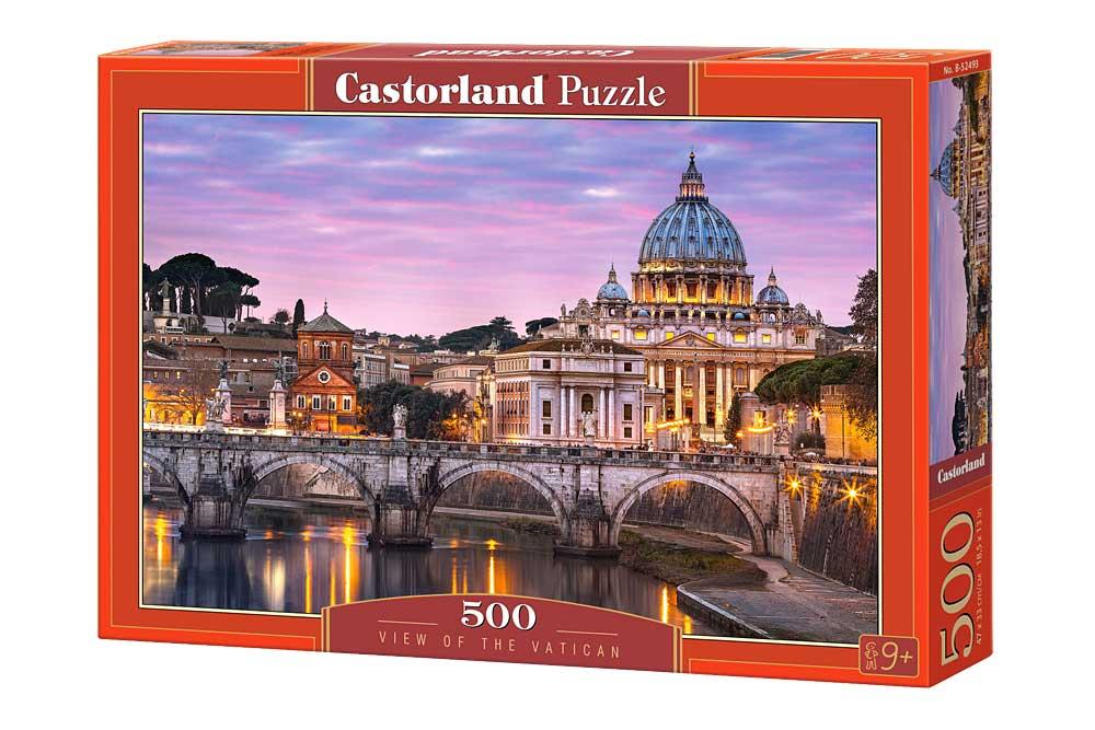 Puzzle Castorland Vista del Vaticano de 500 Piezas