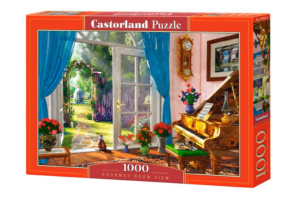 Puzzle Castorland Vista desde la Entrada de 1000 Piezas