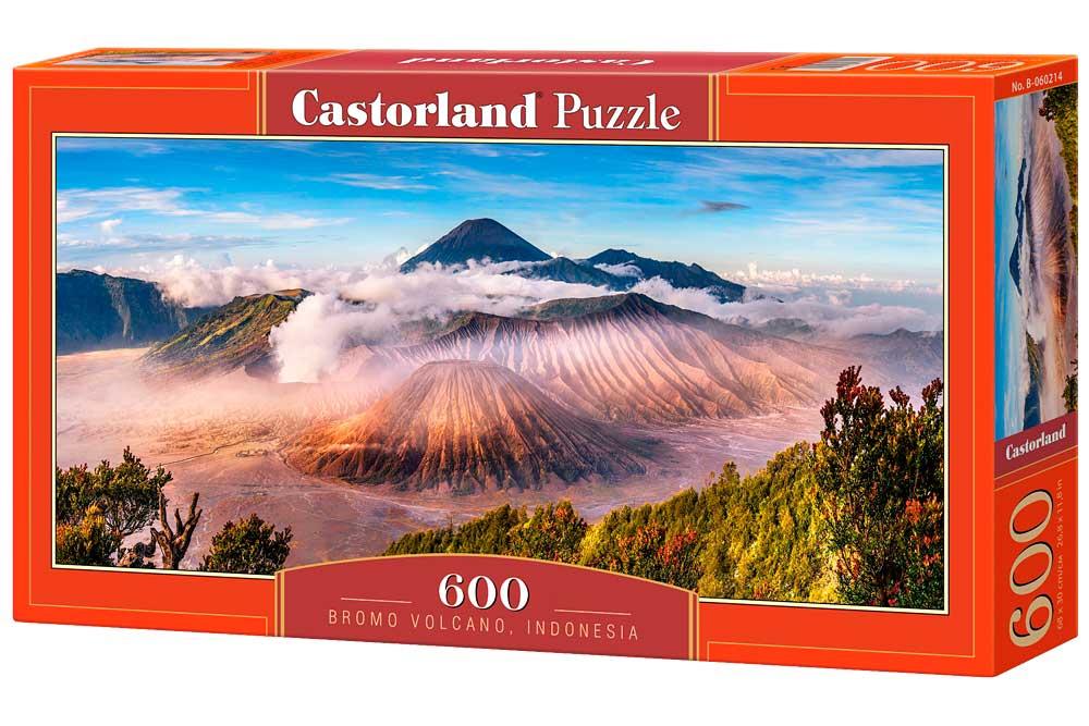 Puzzle Castorland Volcán Bromo, Indonesia de 600 Piezas