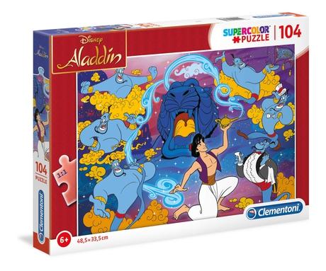 Puzzle Clementoni Aladdin de 104 Piezas
