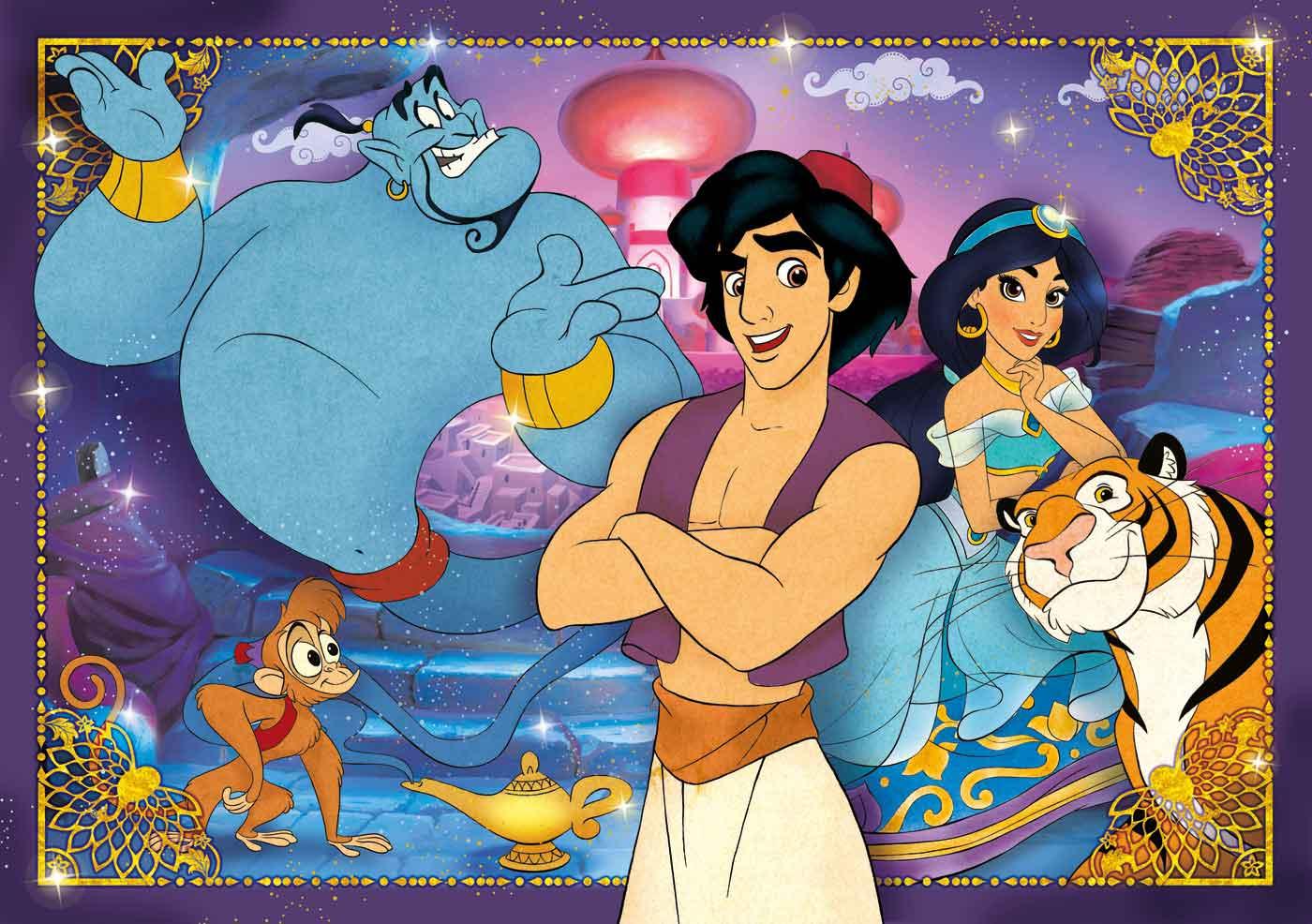 Puzzle Clementoni Aladin de 60 Piezas