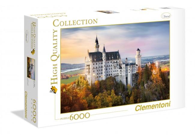 Puzzle Clementoni Alrededores Neuschwanstein 6000 Piezas