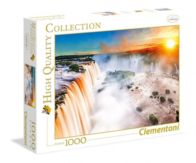 Puzzle Clementoni Amanecer en las Cataratas de 1000 Piezas