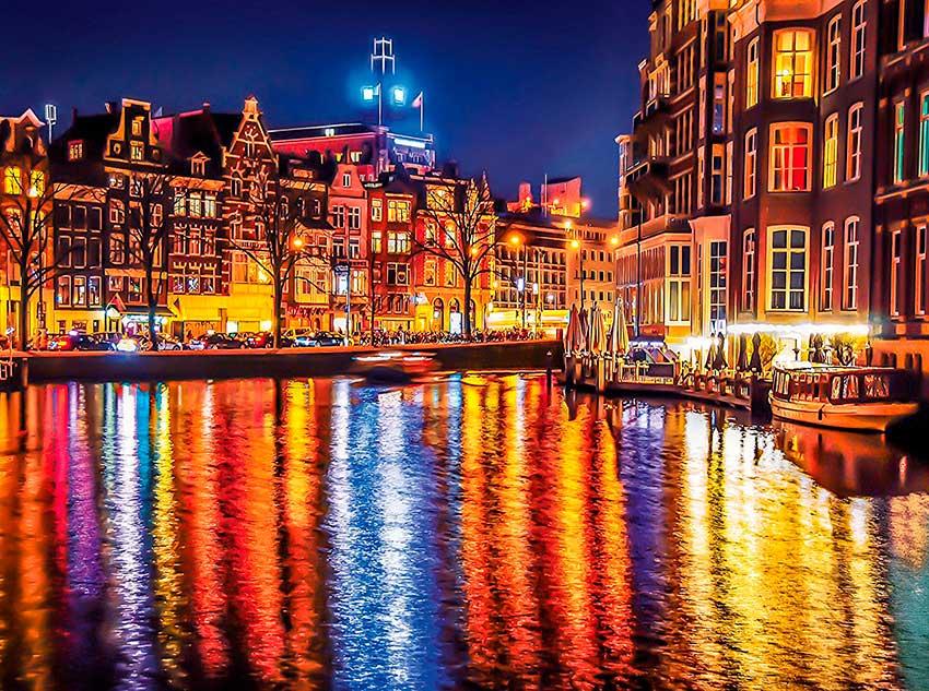 Puzzle Clementoni Amsterdam de 500 Piezas