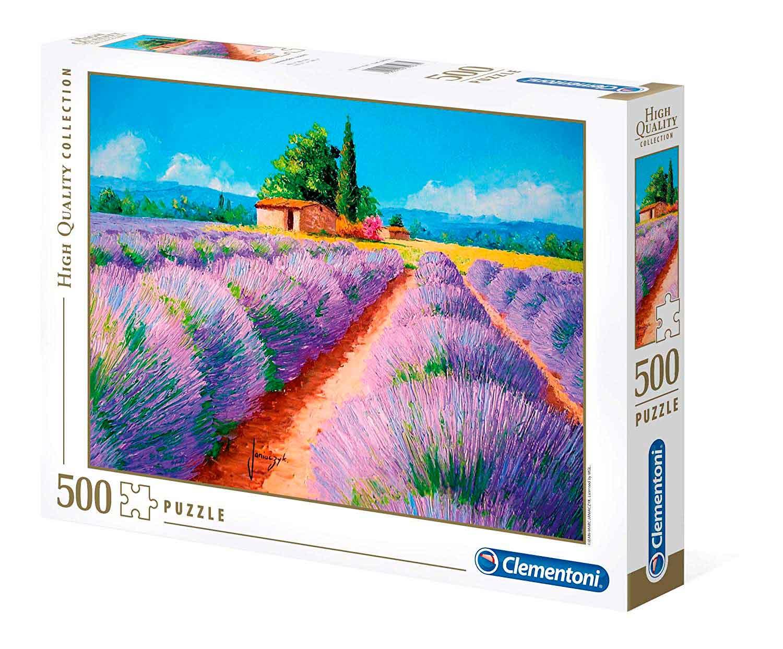 Puzzle Clementoni Aroma de Lavanda de 500 Piezas