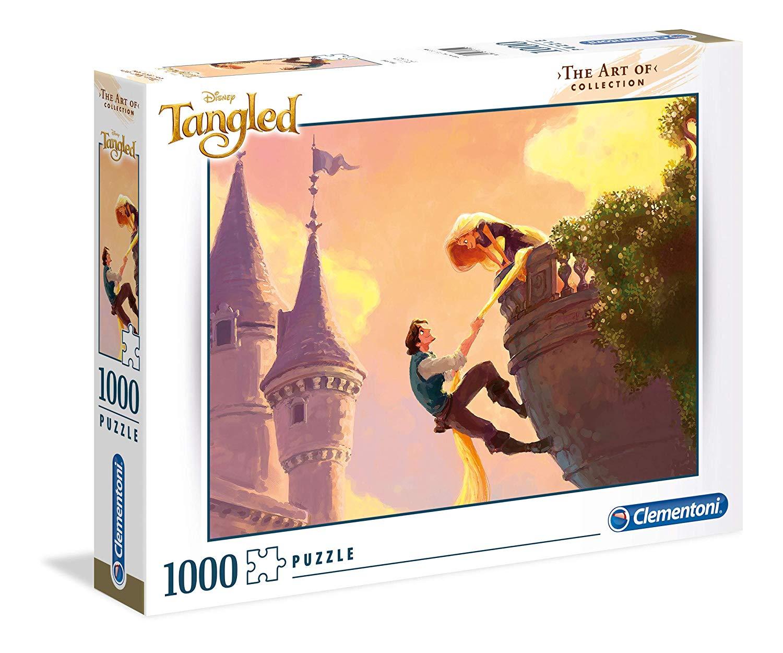 Puzzle Clementoni ART OF Rapunzel  de 1000 Piezas