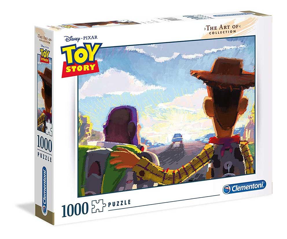 Puzzle Clementoni ART OF Toy Story de 1000 Piezas