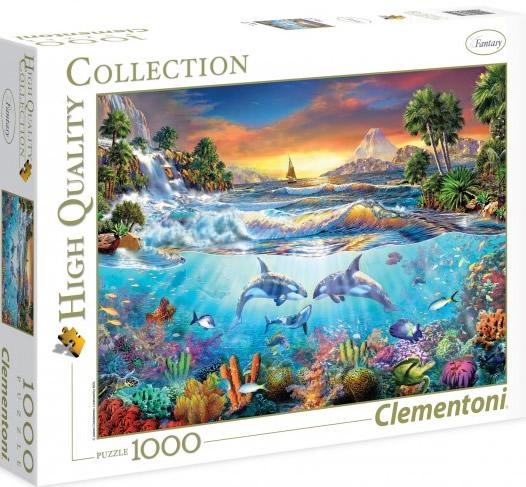 Puzzle Clementoni Bajo el Mar de 1000 Piezas