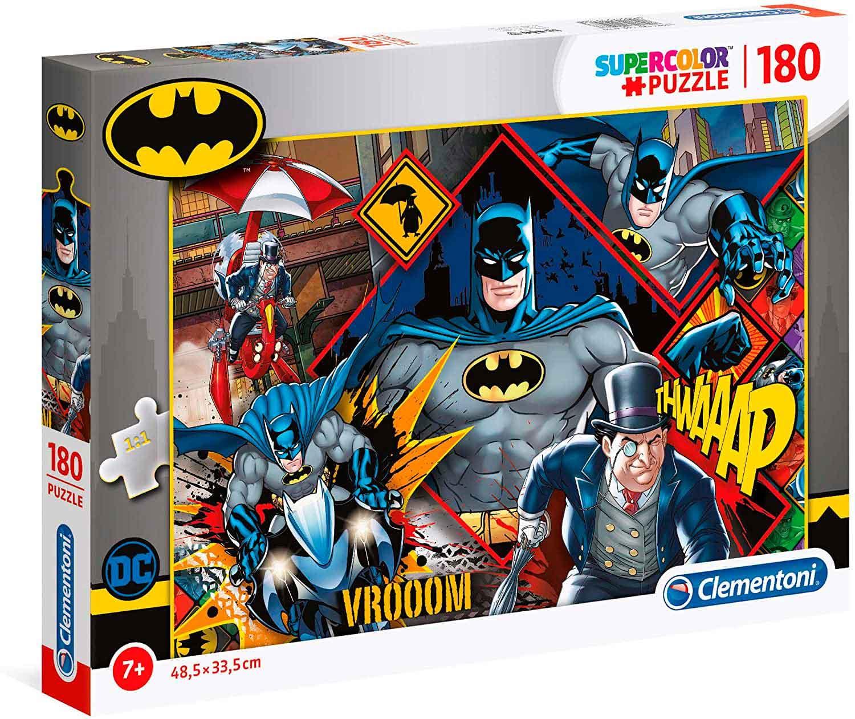 Puzzle Clementoni Batman Contra El Pingüino de 180 Piezas