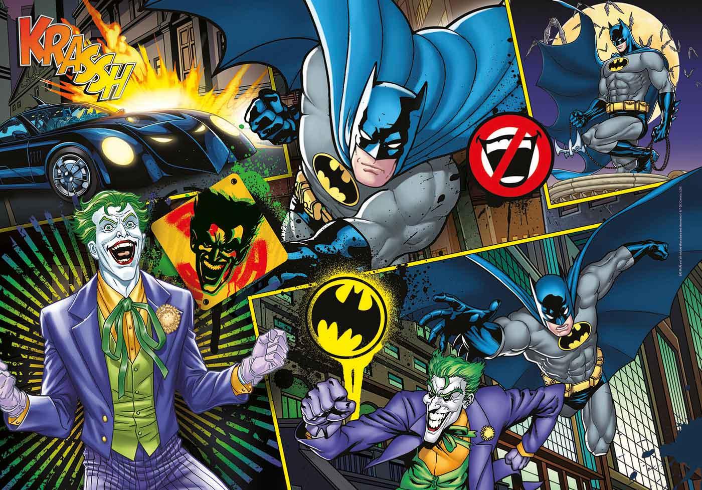 Puzzle Clementoni Batman de 104 Piezas