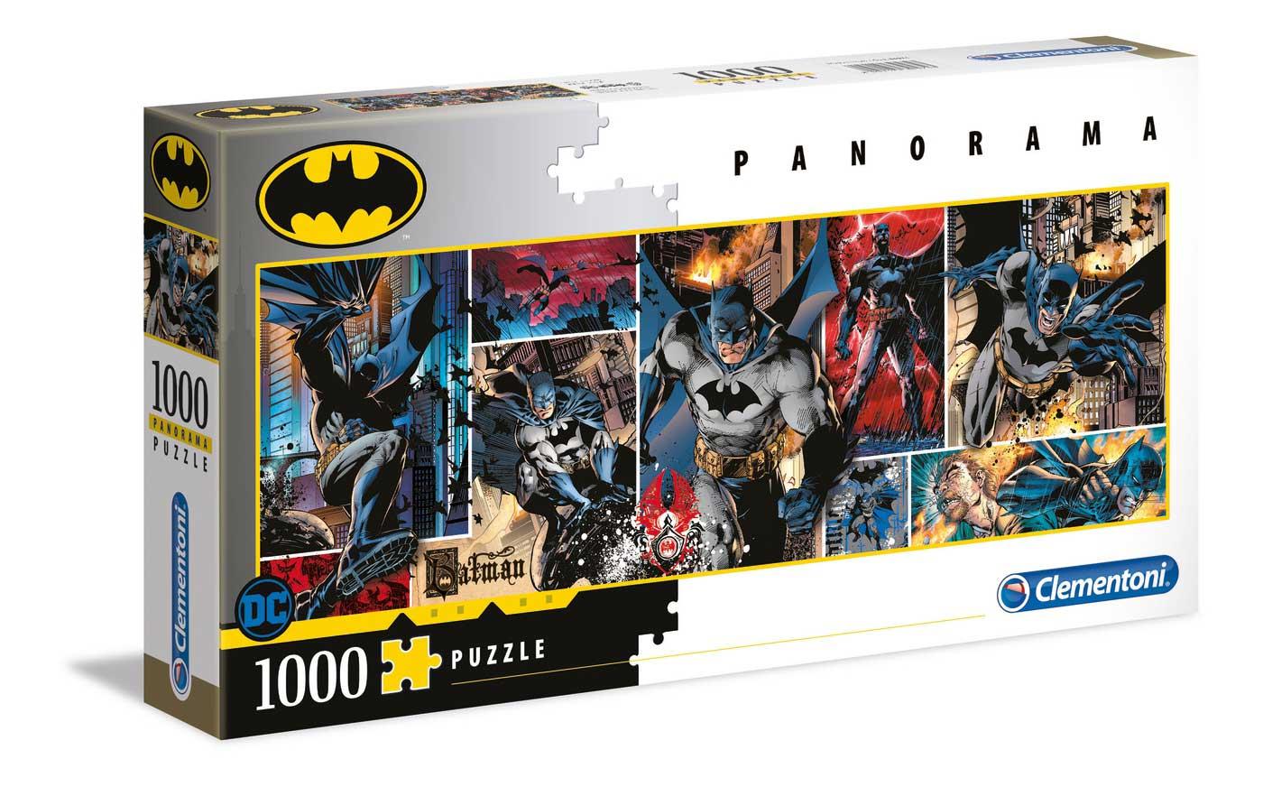 Puzzle Clementoni BATMAN Panorama de 1000 Piezas