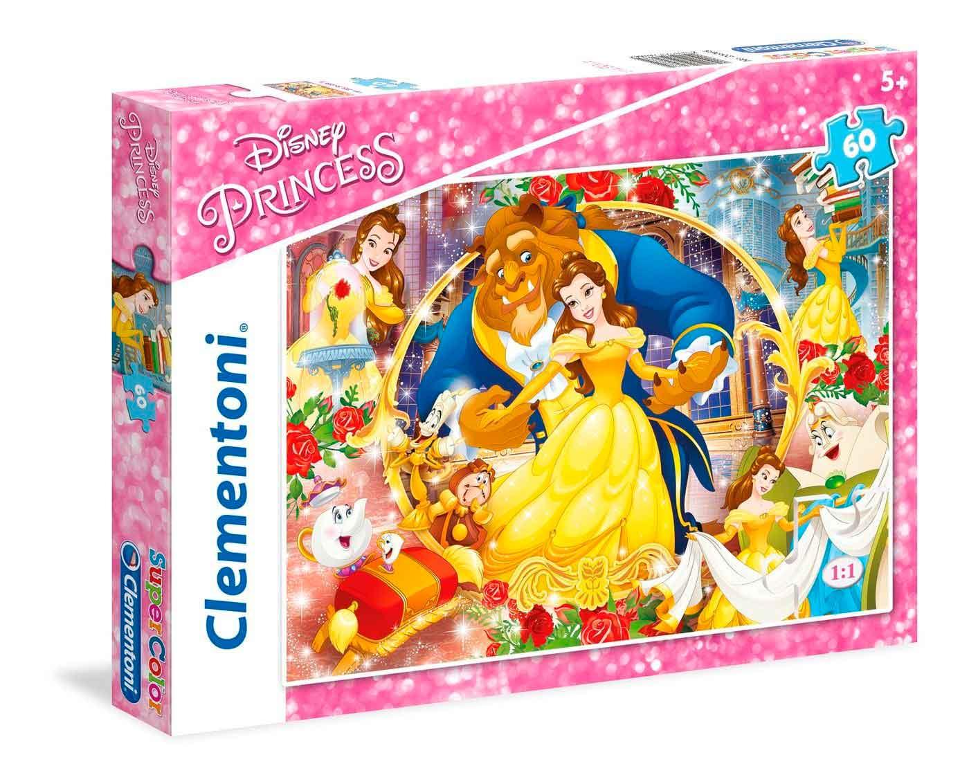 Puzzle Clementoni Bella y Bestia de 60 Piezas