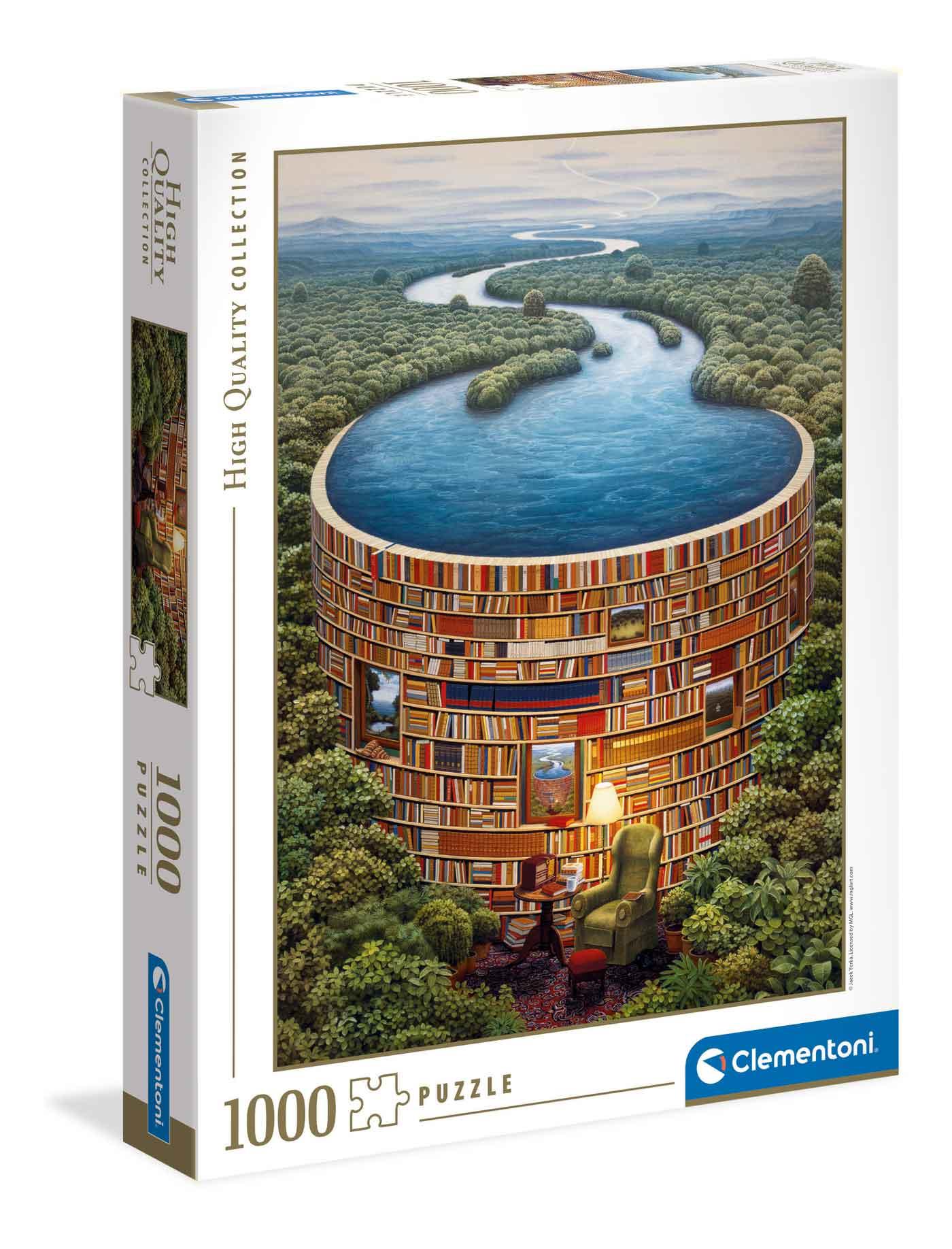 Puzzle Clementoni Bibliodame de 1000 Piezas