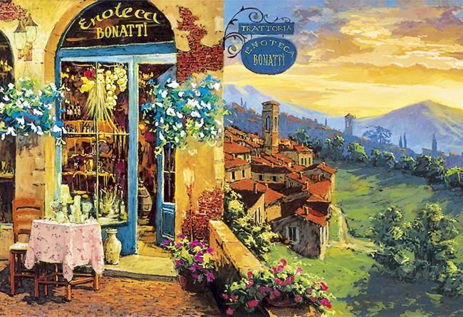 Puzzle Clementoni Bodega en la Toscana de 2000 Piezas
