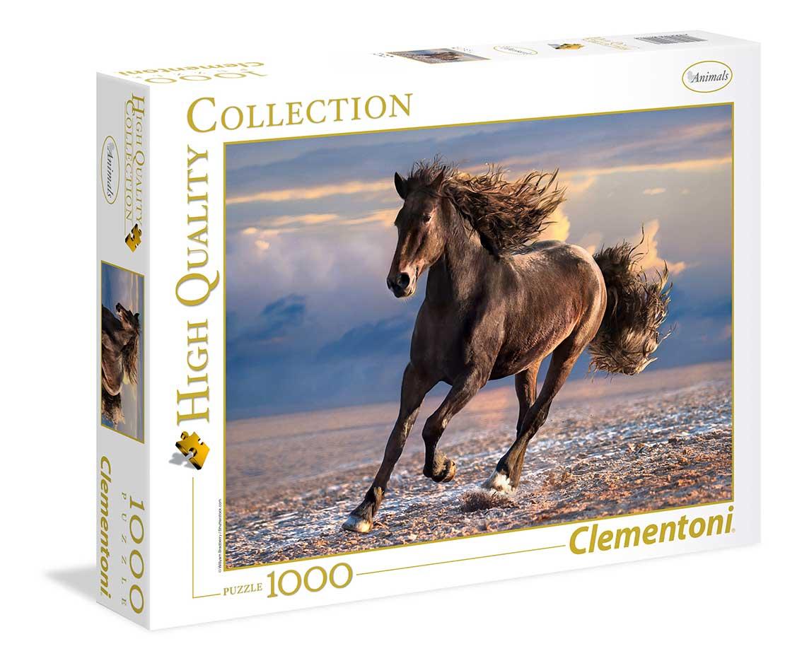 Puzzle Clementoni Caballo Libre de 1000 Piezas