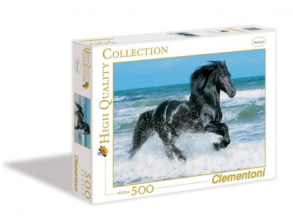 Puzzle Clementoni Caballo Negro de 500 Piezas