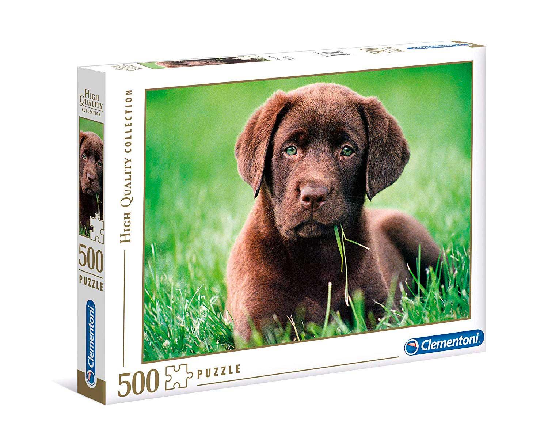 Puzzle Clementoni Cachorro Chocolate de 500 Piezas