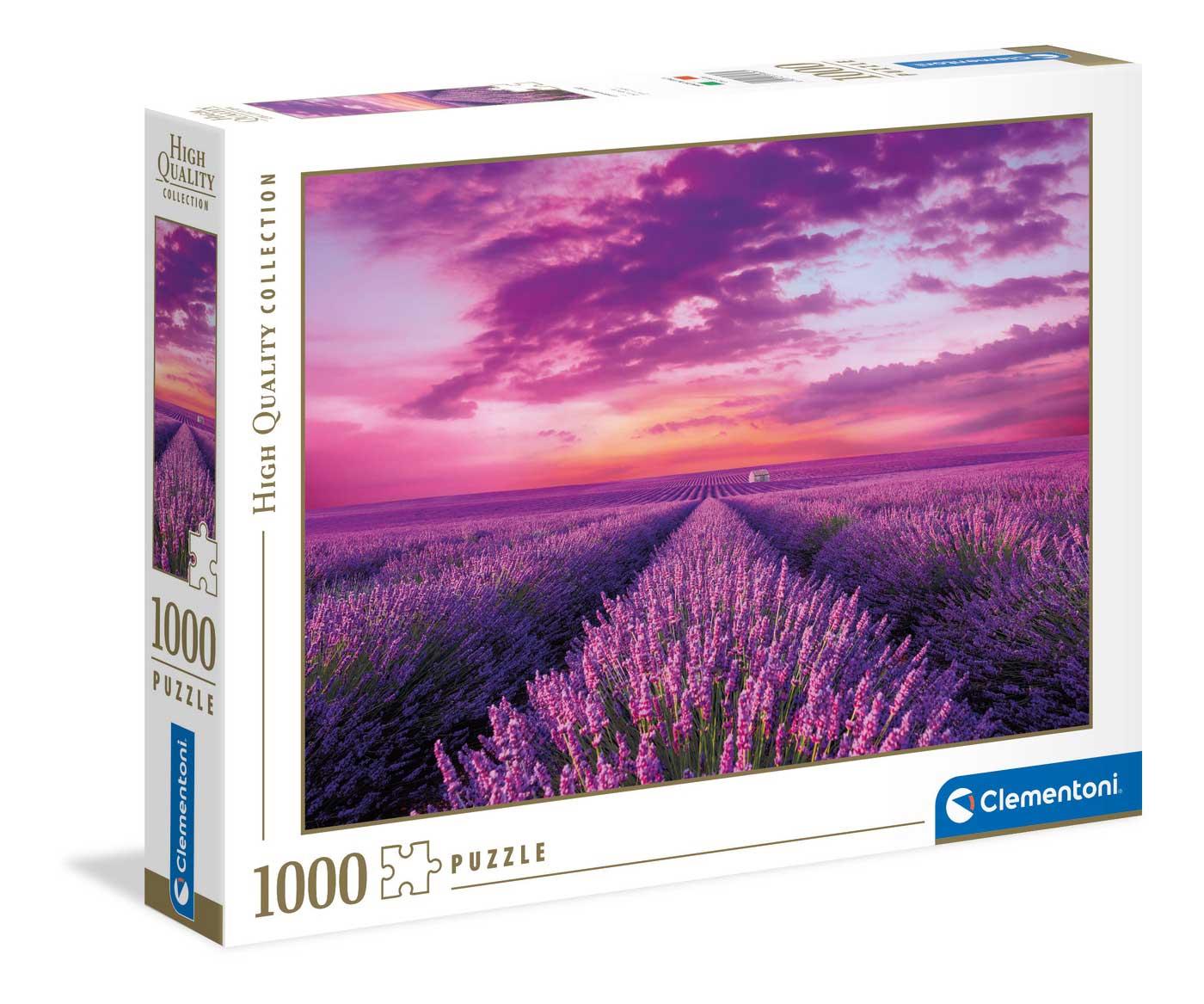 Puzzle Clementoni Campo de Lavandas de 1000 Piezas