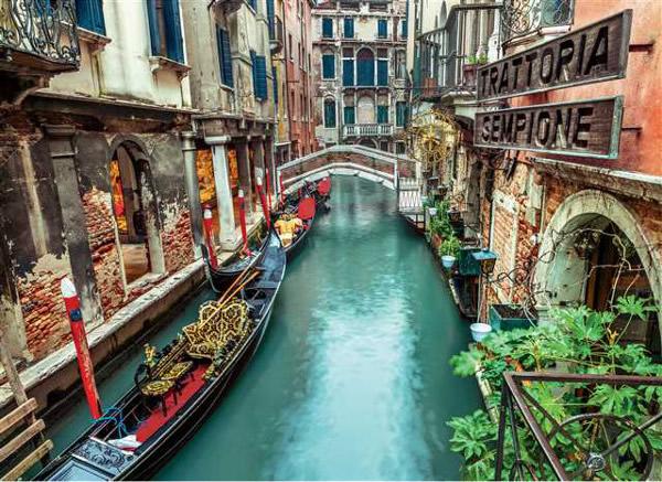 Puzzle Clementoni Canal de Venecia de 1000 Piezas
